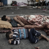Despite ceasefire, the number of displaced in Gaza is rising again